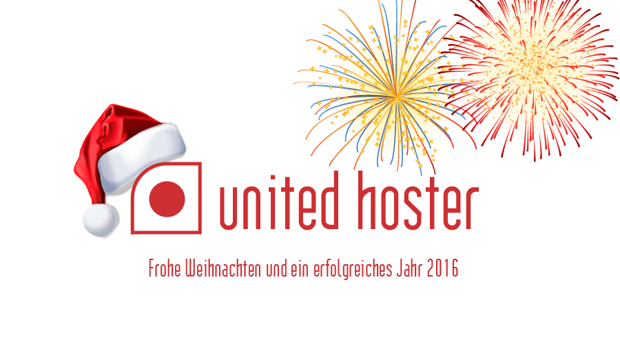 Frohe Weihnachten und ein gutes neues Jahr 2016 – united hoster GmbH