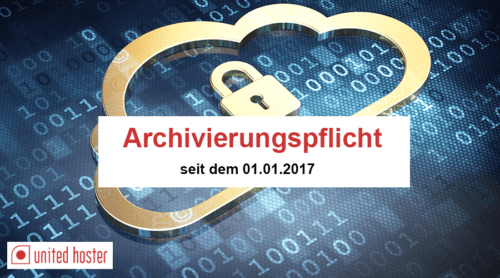archivierungspflicht